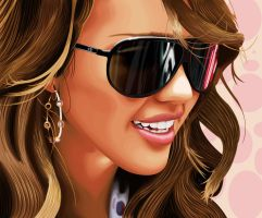 Jessica Alba Vector by predator-fan