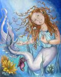 Sarah the Mermaid Princess by Art-of-Wolfmother