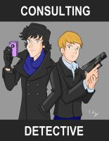 Consulting Detective by KnoppGraphics