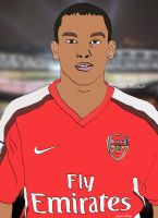 Theo Walcott Cartoon by bluezest1997