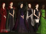 Women of A Song of Fire and Ice pt 1 by TLKFANKING