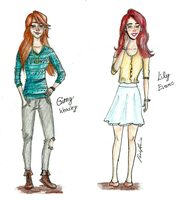 Ginny and Lily by brenda--amancio