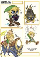 Chibi Link by Kittyotic