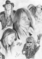 Sweet n' Hard Axl Rose by MabellFanson3