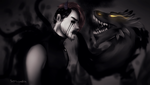 Darkness within by SepticMelon