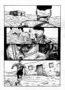 EOD Soldiers 01 - page - 14 ink by furuzono