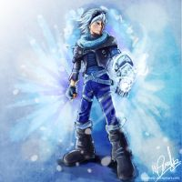 Frosted Ezreal by mattcrossley