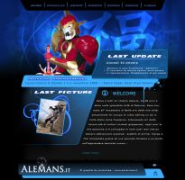 AlemanS Website by AuraRinoa