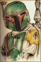 Boba Fett by Insanemoe