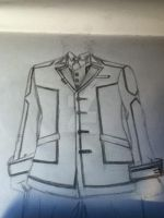 Vampire knight night class uniform (top half) by NekoLuki