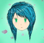 My First proper attempt at a Manga/Anime character by SparkilesVonTra