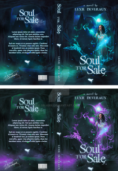 Soul for Sale - Book Cover by selkkie