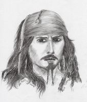 Jack Sparrow by natoth