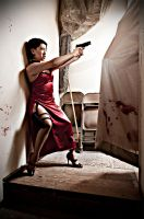 Ada Wong Resident Evil 4 Cosplay Capcom Biohazard by leenisabel
