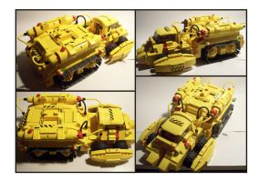 Lego Yellow IR Vehicle by Frohickey