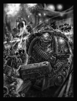 warhammer 40k death guard by PabelBilly