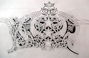 Celtic Tattoo design by Tattoo-Design