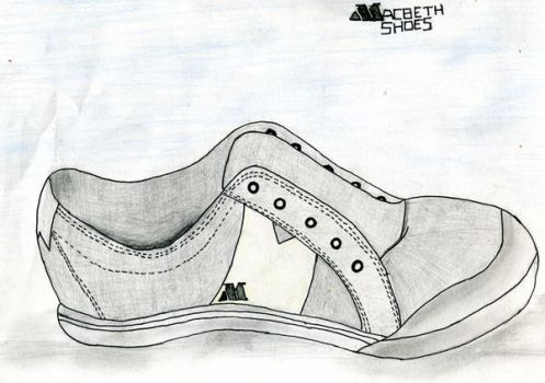 Macbeth Shoe Illustration by operation182