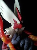 Mega Blaziken preview. by dobharachu