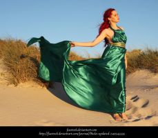 Green Silk 20 by faestock