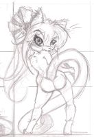 Practice-chibi sole sketch by Methos-DIW