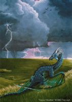 Old Art- Heavy Weather 1996 by jaxxblackfox
