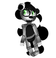 .:CLOSED:.FNAF OTA Adopt - Clumsy Panda by Emzysaurr