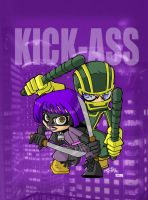 LBH KICK-ASS by KidNotorious by VPizarro626