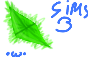 Sims 3 Plumbob :D by Xx-Cookie-Lover-xX