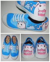 Tokomon Shoes by ectomurf