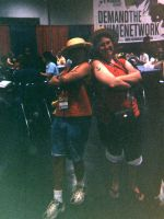 AX03-Luffy and Luffy by moonymonster