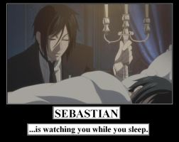 Sebastian Watches You... by MercyAntebellum