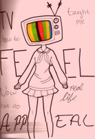 TV Taught Me How to Feel by Monochrome-Colors