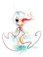 Strings of fate + Speedpaint by Yamio