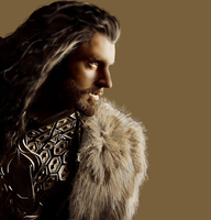 Thorin Oakenshield: King Under The Mountain by dragonbornne