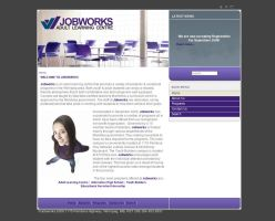 JobWorks New Website design by Lili2