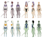 Clothes after Mutation by Kamanari