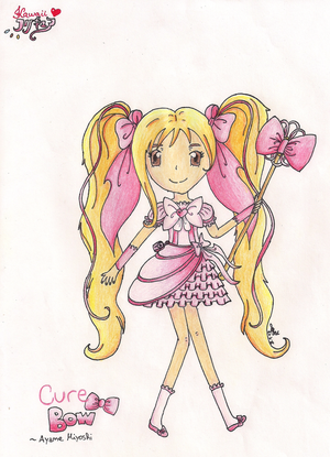 Kawaii! PreCure: Cure Bow (OC) by xNiciCupcake