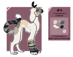 Migrew adoptable 4 | Auction | CLOSED by DaisiesAdopts