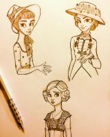 More Costume Sketches by chrissie-zullo