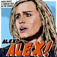 'Alex...Alex' - OITNB by Victoryvague