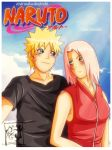 narusaku doujin cover by indy-riquez