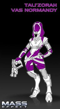 Tali'Zorah by DarkTod