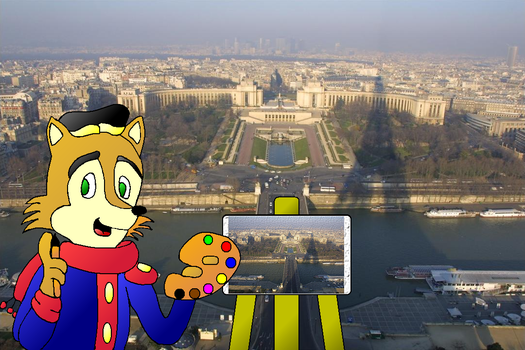 Antoine goes to France by mightydillo