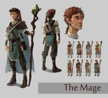 The Mage by Rozen-Clowd
