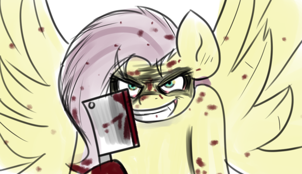 Hey Hey Hey Stay out of my shed by TranzmuteProductions