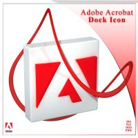 Adobe Acrobat Reader Dock Icon by AlperEsin
