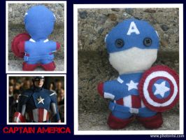 The First Avenger: Captain America -The Plushies- by calceil