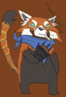 Red Panda by Pigglesworth