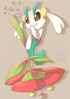 01: Floette by SkittyStrawberries